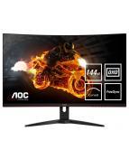 """AOC CQ32G1 - LED-skärm - böjd - 31.5"""" (31.5"""" visbar) - 2560 x"""