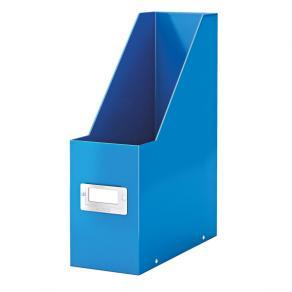 Tidskriftsamlare Click & Store WOW Blå, 95x245x310mm