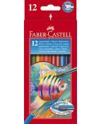 Färgpenna Faber-Castell Akvarell, 12/fp