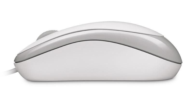 Microsoft Basic Optical Mouse - Mus - höger