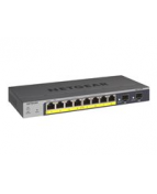 NETGEAR Pro GS110TPv3 - Switch - smart - 8 x 10/100/1000 (PoE) +