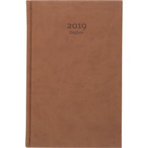Dagbok, cognac konstläder - 1029