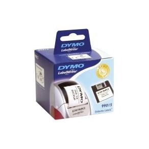 Etiketter Dymo LW Diskett, vit, 70x54mm, 320/fp