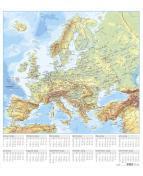 Väggblad med Europakarta- 5088