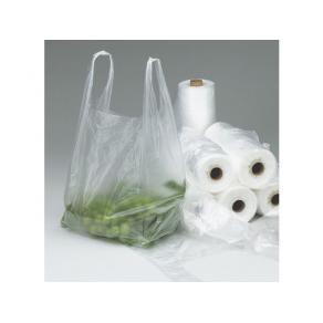 Knytpåse Plast Mat Transparent, HD, 3kg, 320/rl, 12rl