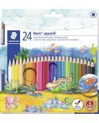 Färgblyertspenna Noris Club Akvarell ass (24)