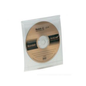 CD-ficka, självhäftande, 5/fp
