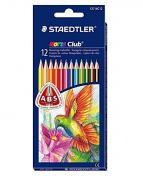 Färgpenna STAEDTLER trekantig 12 färger