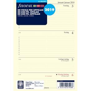 Filofax Dagbok A5 2019, V/U, S