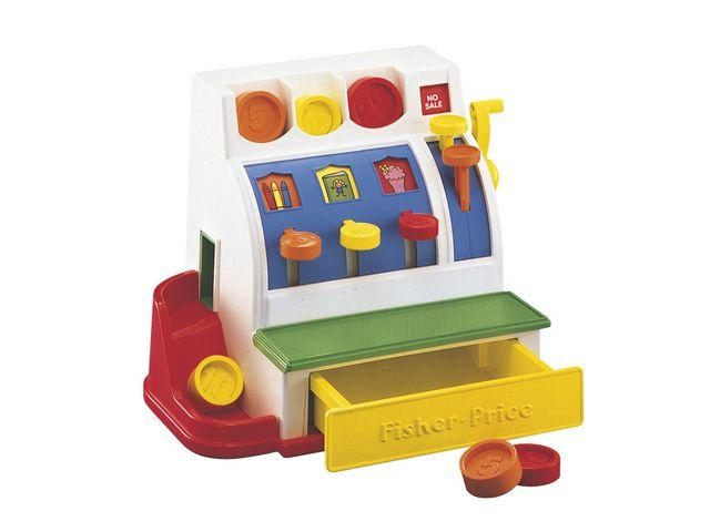 Kassaapparat Fisher-Price, 2 år