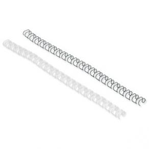 Bindningsspiral GBC MultiBind Svart, 21-öglor, 8mm, 100/fp