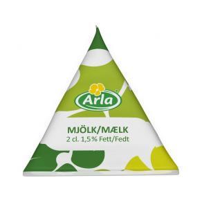 Kaffemjölk ARLA 1,5%, 2cl, 100/FP