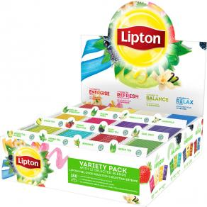 Te LIPTON Sortimentskartong påsar 180/F