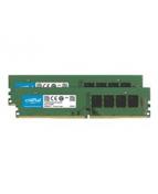 Crucial - DDR4 - sats - 16 GB: 2 x 8 GB - DIMM 288-pin - 2666