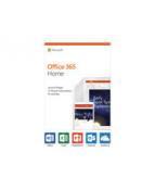 Microsoft Office 365 Home - Boxpaket (1 år) - upp till 6