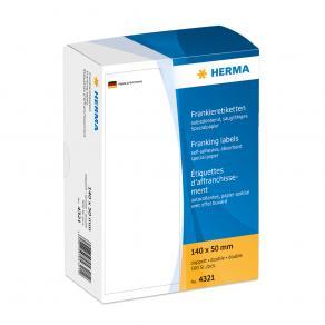 Frankeringsetiketter HERMA, 140x50mm, 500/fp
