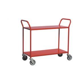 Bordsvagn Röd, 2 hyllplan