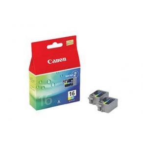 Canon BCI-16 - 2-pack - gul, cyan, magenta