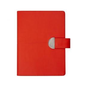 Dagbok konstläder Röd - 5720