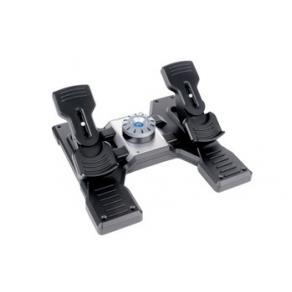 Logitech Flight Rudder Pedals - Pedaler - kabelansluten - för PC
