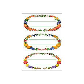 Herma stickers Home ram frukt (4)