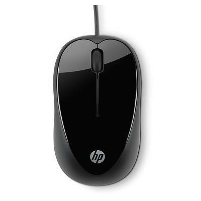 HP X1000 - Mus - optisk - 3 knappar