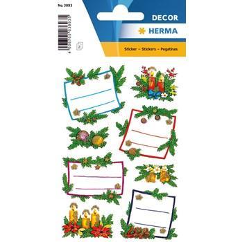 Herma stickers Decor julklappsetikett jul (2) 10st