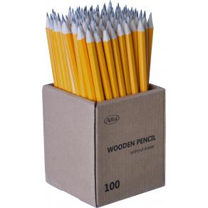 Blyertspenna HB gul 100/FP