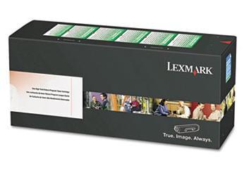 Lexmark - Cyan - original - tonerkassett - för