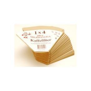 Kaffefilter - Kaffefilter 1x4 200/FP