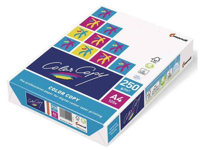 Kopieringspapper Color Copy A4, 250g, 125 ark