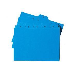 Ledkort A6L A-Ö Blå, kartong