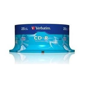 CD-R Verbatim Cakebox, 700Mb, 25/fp