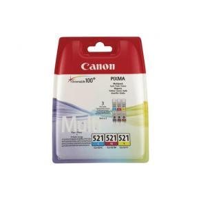 Canon CLI-521 Multipack - 3-pack - 9 ml - gul,