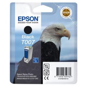 Epson T007 - 16 ml - svart - original - blister