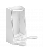 Dispenser Sterisol vit, med plastarm, 0,7L