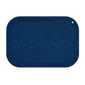 Arbetsplatsmatta StandUp 53x77cm blå