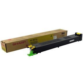 Toner SHARP MX-18GTYA gul