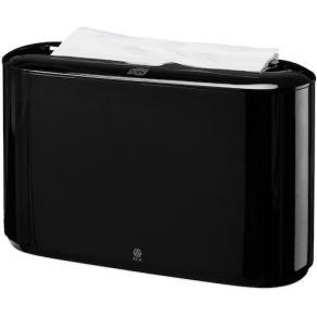 Dispenser Handduk TORK Xpress H2, fristående, svart