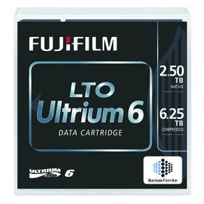 LTO 6 Ultrium 2,5-6,25TB Standard Pack
