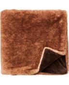 Russel Pläd brun