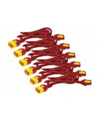 Power Cord Kit C13 TO C14 0.6m Red