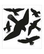 Herma sticker Home varningsfågel (6)
