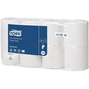 Toalettpapper TORK Universal T4, 2-lag, 38m, 8/fp