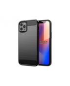 Insmat Carbon And Steel Style - Baksidesskydd för mobiltelefon
