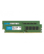 Crucial - DDR4 - 64 GB: 2 x 32 GB - DIMM 288-pin - 3200 MHz /
