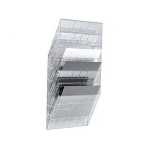Blankettfack Durable Flexiboxx Transparent, A4L, 6 fack