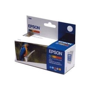 Epson T008 - 46 ml - färg (cyan, magenta, gul,