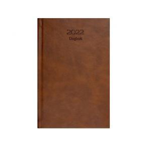 Dagbok GRIEG Lux A5 2022 cognac