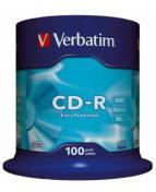 CD-R Verbatim Cakebox, 700Mb, 100/fp